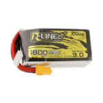 New TATTU 14.8V 1800mAh 120C 4S Lipo Battery XT60 Plug for FPV RC Drone