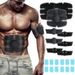 New 12PCS ABS Stimulator Gel Pads Replacement for Muscle Toner for Abdominal Workout Belt Muscle Trainer Machine