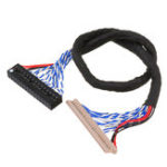 New DF14-30P-Double 2CH 8-bit Screen Cable 25CM For Universal V29 V59 LCD Driver Board