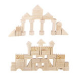 New 162Pcs Wooden Blocks Educational Child Play Learning Classic Jigsaw Puzzle Toy