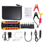 New Portable LED 89800mAh Car Jump Starter Pack Booster Charger Battery Power Bank Emergency Start Power With Safety Hammer