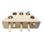 New Cat Toys Hamster Machine Funny Cat Toy Solid Wood Pet Supplies Whac-A-Mole Mouse