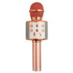 New WS858L Wireless bluetooth Karaoke KTV Audio Live Microphone Speaker Stereo Singing Player