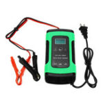 New 12V 6A Motorcycle Car Intelligent Battery Pulse Repair With LCD Screen Charger