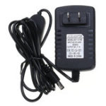 New 1.5M 2M AC110-240V To DC12V 1A 5.5*2.1mm Touch Dimmer Switch Power Adapter US Plug for LED Strip