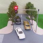New HO OO Scale Traffic Light Signal Model Train Architecture Crossing Walk Street Block Signals