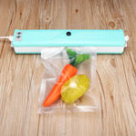 New 110W 220V Automatic Vacuum Sealer Machine System Food Saver Preservation With 6 Bags