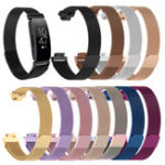 New Bakeey Milan Magnetic Watch Band Stainless Steel Strap for Fitbit Inspire HR Smart Watch