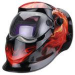 New Solar Power Automatic Dimming Welding Helmet Welder Mask Adjustable Head Band PP