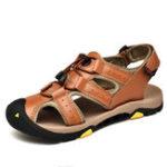 New Men Hook&Loop Soft Soles Outdoor Sandals