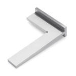 New 100x70mm DIN875-2 Angle Corner Square Ruler 90 Degree Wide Base Gauge Woodworking Tool