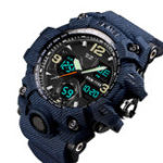 New SKMEI 1155B MilitaryCamouflage Waterproof Dual Display Watch