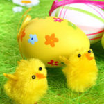 New 36Pcs Easter Chicken Kawaii Chick Cute Stuffed Short Plush Toy