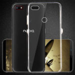 New Bakeey Ultra-Thin Transparent Soft TPU Protective Case for ZTE Nubia V18