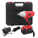 New 168VF 19800mAh LED Electric Cordless Impact Wrench Li-ion Power Torque Drill Screwdriver