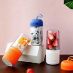 New Vitamer Mini Automatic Juicer Cyclone Rechargeable Vitamin Blenders Cups