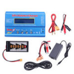 New IMax B6 50W 5A Battery Balance Charger With 12V 5A Power Supply XT60 Parallel Board