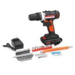 New 24V Cordless Drill Dual Speed Electric Screwdriver 1 Battery 48Nm 15+1 Torque 3/8″ Chuck