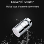 New Bathroom Kitchen Aerator Faucet Tap Adapter 2 Flow Water Saving Device