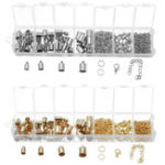 New Jewelry Findings Starter Kit Jewelry Beading Making and Repair Tools Kit