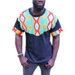 New Men Tribal Pattern Printed Short Sleeve T-Shirts