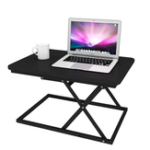New BAIZE zdz-01f Sit Stand Dual-use Desk Modern Simple Adjustable Height Desk Foldable Office Desk Riser Notebook Laptop Stand Notebook Monitor Holder