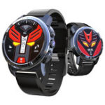 New Kospet Optimus MTK6739+NRF52840 4G AMOLED Ceramic Bezel Google Play GPS/GLONASS 2G+16G Smart Watch Phone