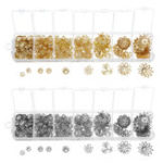 New Jewelry Findings Starter Kit Beading Making and Repair Tools Kit Silver and Gold