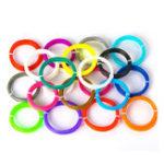 New  5M/Pack 20 Colors 3.0mm High Temperature Resistance  PLA Filament for 3D Printer Pen