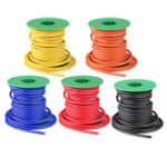 New 7M 12AWG Soft Silicone Cable Wire High Temperature Tinned Copper