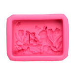 New Soap Mould Silicon Easter Bunny Rabbit Mold for Homemade Soap Candle Resin Craft