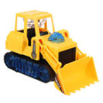 New Electric LED Light Movable Truck Excavator Car Kid Xmas Gifts Toys