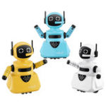 New Line Tracking Smart RC Robot Shining Light Robot Toy Gift For Children