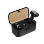 New Mini TWS True Wireless bluetooth Earphone HiFi Stereo Noise Cancelling Waterproof Headphone with 800mAh Charging Box
