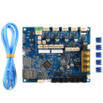 New Cloned Duet 2 Maestro Advanced 32bit Motherboard Mainboard For 3D Printer CNC Machine