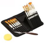 New Zhuting 15 Pearl White Nylon Practical Writing Brush Set