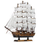 New 50cm Handmade Wooden Sailing Boats Model Assembly Nautical Ship Schooner Boat Decorations Gift