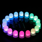 New Finished Mini Aurora Suite Kit Electronic DIY Aurora LED 18 Light Diode Luminous Desktop Decorations