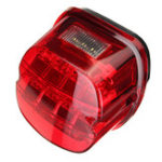 New Motorcycle LED Rear Tail Brake Light License Lamp For Harley Davidson Sportster