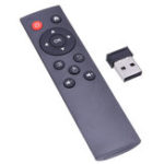 New JQH JQH12ARF2-IR 2.4G Wireless Remote Control IR Learning for TV Box PC