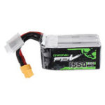 New Ovonic 14.8V 1550mAh 80C 4S Lipo Battery XT60 Plug for FPV Racing Drone