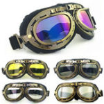 New Retro Vintage Motorcycle Helmet Eyewear Goggles Riding Glasses For Harley
