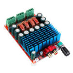 New TAS5630 HIFI Digital Power Amplifier Board 2x300W 2.0 Channel Stereo Audio Amplifier 25-50V DC