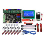 New MKS GEN L Mainboard+Mini MOS Module+LCD 12864 Display+6Pcs Limit Swich+5Pcs A4988 Driver Kit 3D Printer Parts