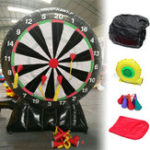 New 220V Throw Game 4M/13ft High Giant Inflatable Dart Board with Air Blower