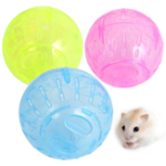New Plastic Pet Rodent Mice Jogging Ball Toy Hamster Gerbil Rat Exercise Balls Play Pet Toys
