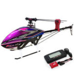 New KDS AGILE A7 6CH 3D Flybarless 700 Class RC Helicopter Kit With EBAR V2 Gyro