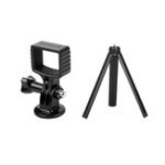 New Sunnylife OSMO Pocket Aluminium Adatper Mount Gimbal Expansion Bracket with Tripod For DJI Selfie Tripod Bycle Car Sucker Clamp Accessories