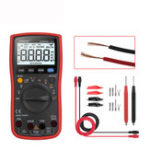 New ANENG AN860B+ LCD 6000 Counts Digital Multimeter Backlight AC/DC Current Voltage Resistance Frequency Temperature Tester with Lead Set