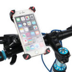 New Adjustable 360 Degree Rotation Bike Bicycle Motorcycle Handlebar Phone Holder Mount for Xiaomi Mobile Phone Under 6.5″
